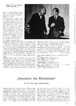 Geometer des Mysteriums