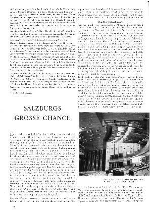Salzburgs große Chance