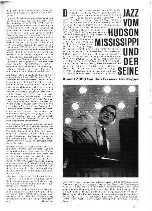 Jazz vom Hudson Mississippi und der seine