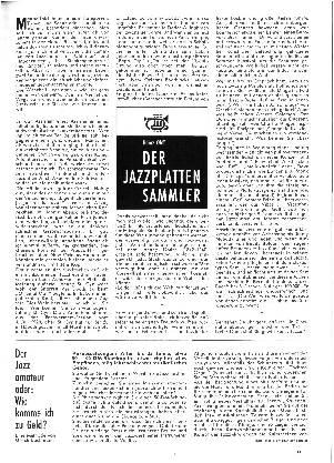 Der Jazzplattensammler