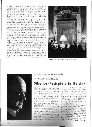 Sibelius-Festspiele in Helsinki