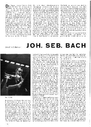 Joh. Seb. Bach und der Jazz