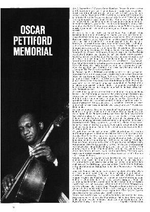 Oscar Pettiford Memorial