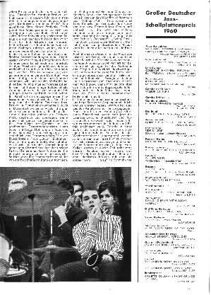 Großer Deutscher Jazz-Schallplattenpreis 1960