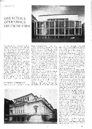 Das älteste Konzerthaus Deutschlands