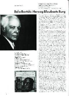 Bela Bartók: Herzog Blaubarts Burg