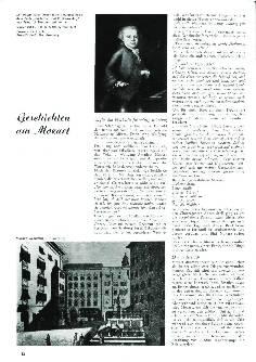 Geschichten um Mozart