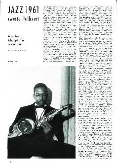 Jazz 1961 zweite Halbzeit
