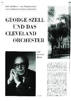 Georg Szell und das Cleveland Orchester