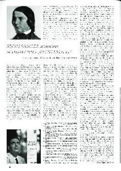 Sechs Sänger interpretieren Schumanns Dichterliebe
