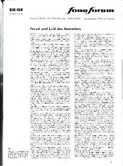 Freud und Leid des Sammlers