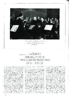 25 Jahre Israelisches Philharmonisches Orchester