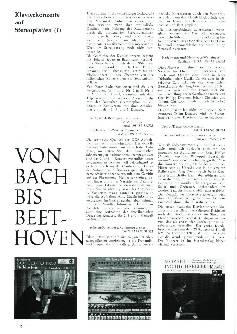 Von Bach bis Beethoven