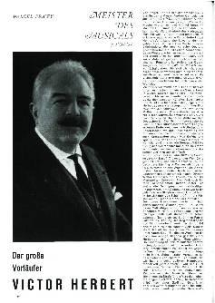 Der große Vorläufer Victor Herbert