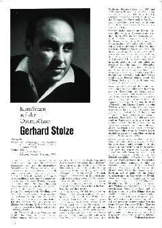 Gerhard Stolze
