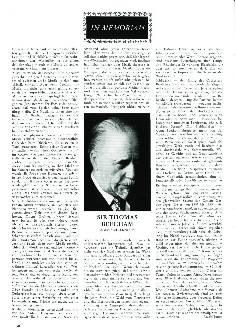 In Memoriam Sir Thomas Beecham