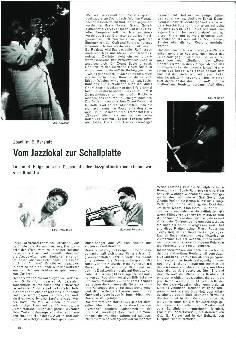 Vom Jazzlokal zur Schallplatte