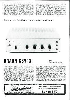 Braun CSV 13