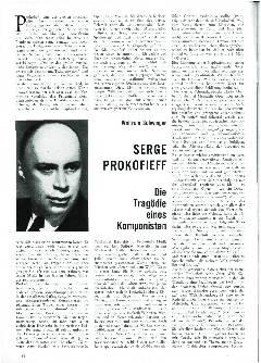 Serge Prokofieff
