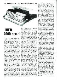 Uher 4000 report