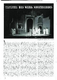 Das Werk Monteverdis