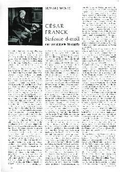 César Franck Symphonie d-moll