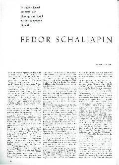 Fedor Schaljapin