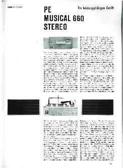 PE Musical 660 Stereo