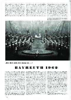 Bayreuth 1962