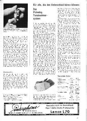Das Pickering-Tonabnehmersystem