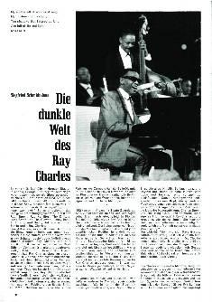 Die dunkle Welt des Ray Charles