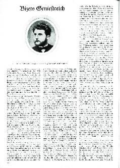 Bizets Geniestreich