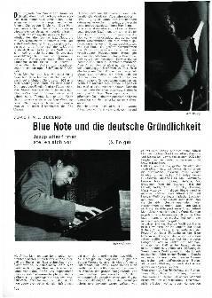 Blue Note und die deutsche Gründlichkeit