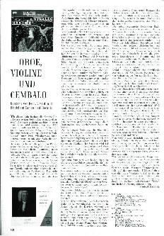 Oboe, Violine und Cembalo