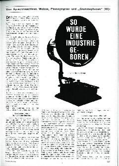 So wurde eine Industrie geboren