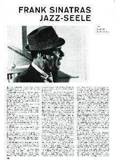 Frank Sinatras Jazz-Seele