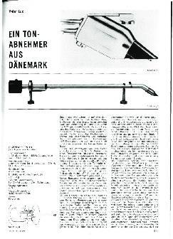 Ein Tonabnehmer aus Dänemark