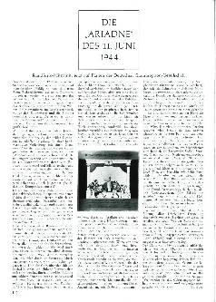 Die Ariadne des 11. Juni 1944