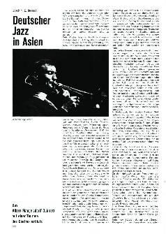 Deutscher Jazz in Asien