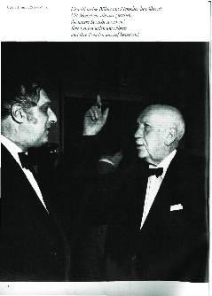 Bild Richard Strauss im Gespräch mit dem Dirigenten Clemens Krauss