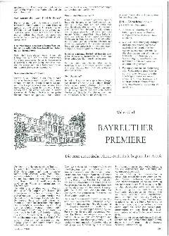 Bayreuther Premiere