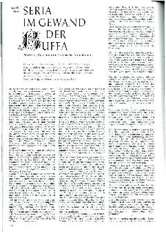 Serie im Gewand der Buffa