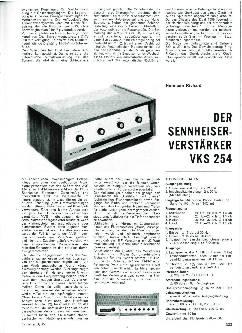 Der Sennheiser-Verstärker VKS 254