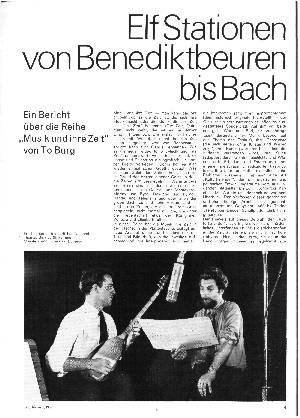 Elf Stationen von Benediktbeuren bis Bach