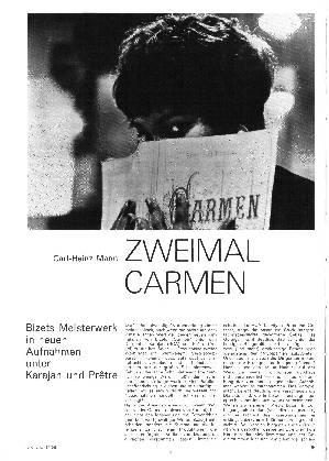Zweimal Carmen