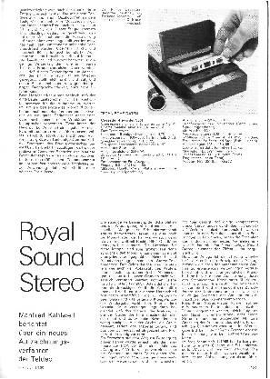 Royal Sound Stereo