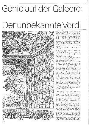 Genie auf der Galeere: Der unbekannte Verdi