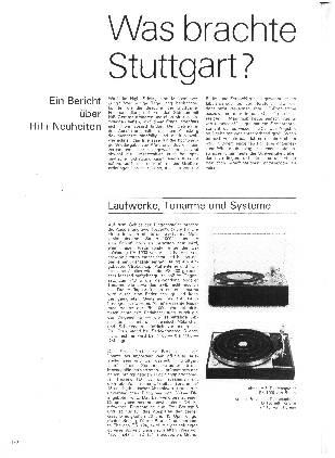 Was brachte Stuttgart