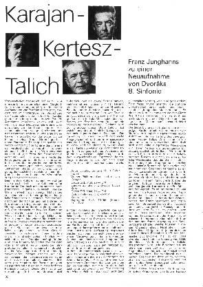 Karajan - Kertesz - Talich