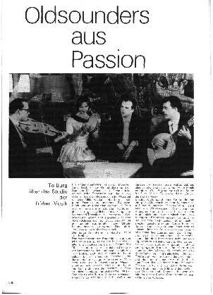 Oldsounders aus Passion